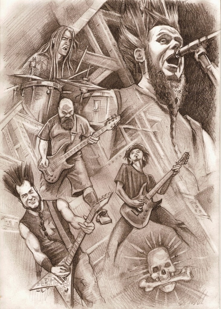 Drawing of Static-X