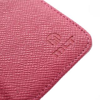 Leather Case Wallet Credit Card Slot Sony Xperia E C1504 C1505, E Dual C1604 C1605 - Magenta