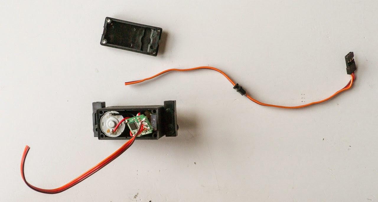 lane boys rc shorten your servo wires rh laneboysrc blogspot com Aileron Servo Wiring AC Servo Motor Wiring Diagram