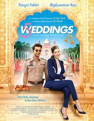 5 Weddings 2018 Bollywood 300MB Hindi 480p