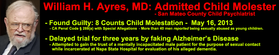 william hamilton ayres, molester, malingerer - Watchdog Site