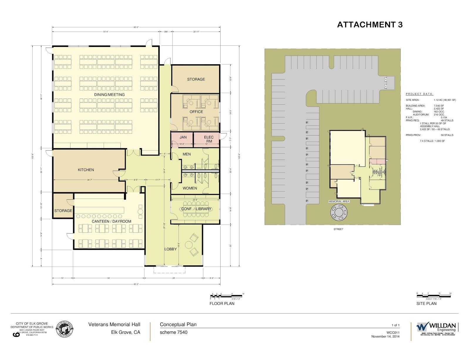 Elk Grove Moves Forward With Vet Center, Appropriates Design Money For Senior Center