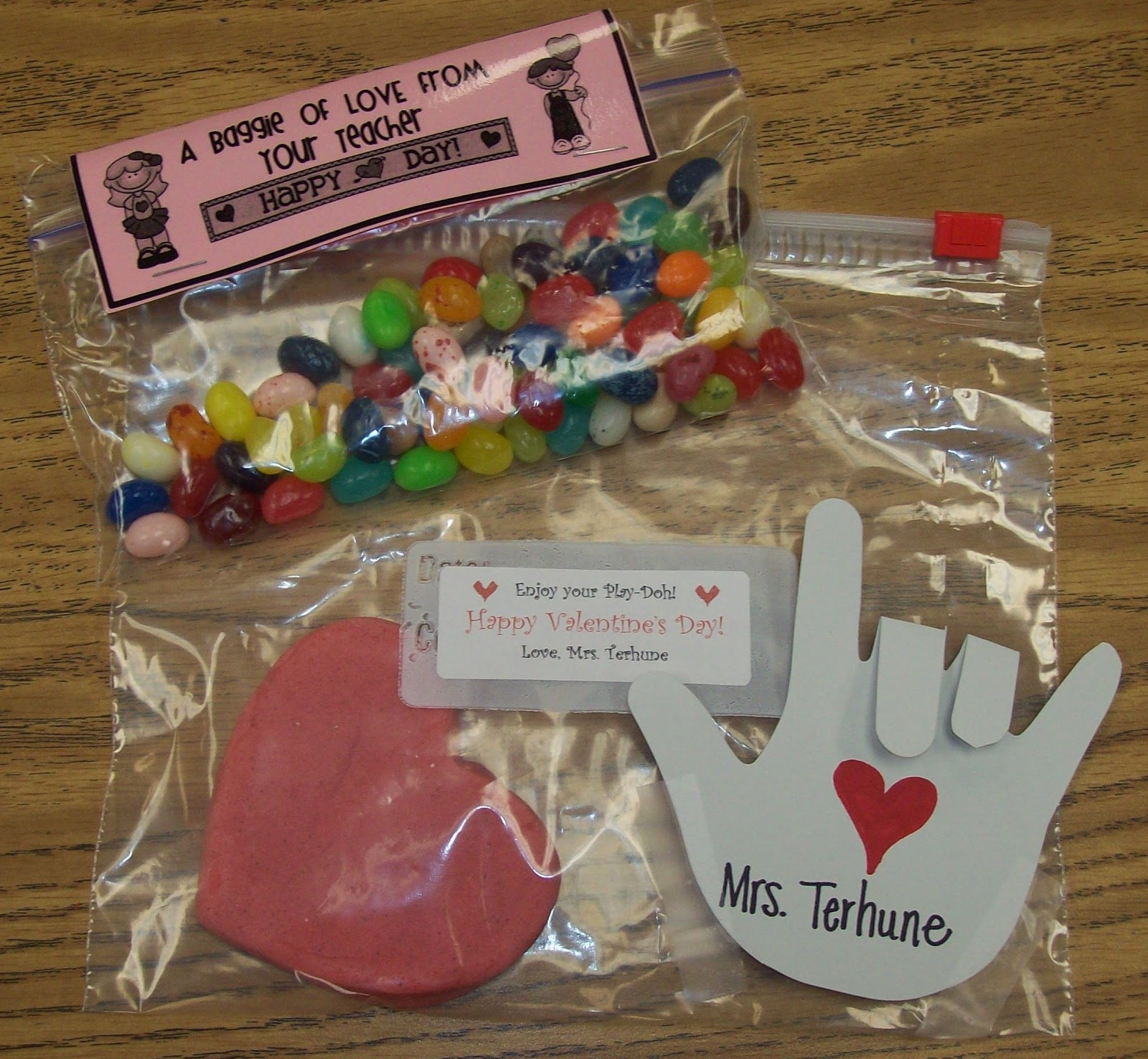 Baby Gift Ideas For Teachers From Students : Teaching with terhune valentine s day student gifts