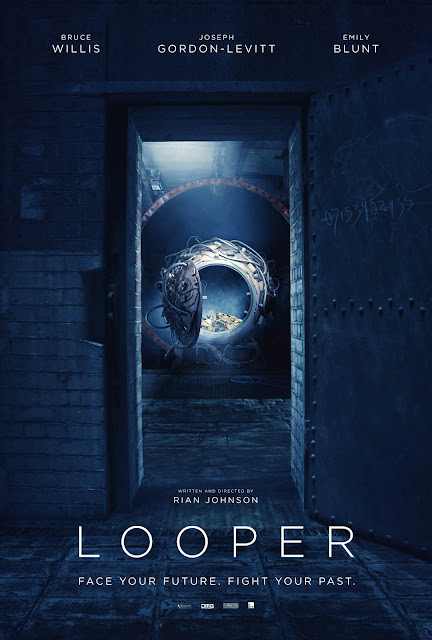 Looper Movie Uk Poster