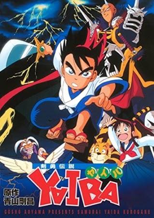 Densetsu Kenyuu Yaiba 90's ABC English Dubbed Anime featuring Yaiba Kurogane, Onimaru, and Sayaka