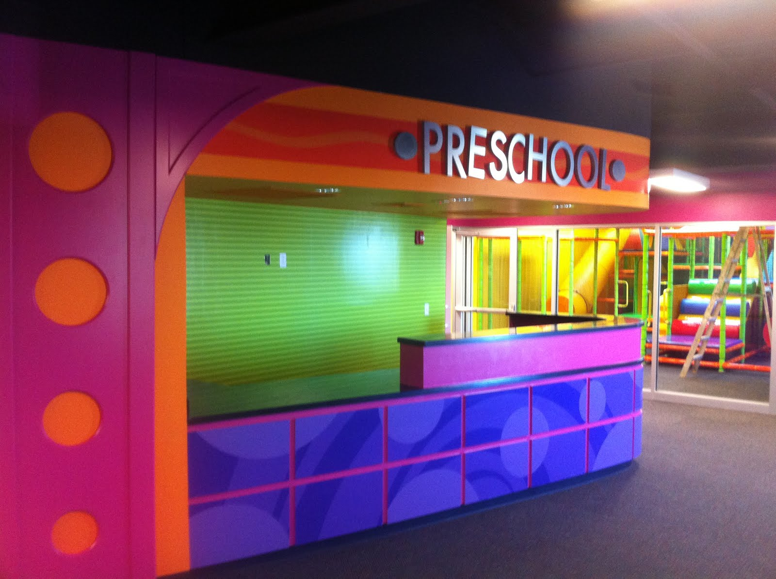 Church Indoor Playground and Creative Themed Kids Area at Kelview ...