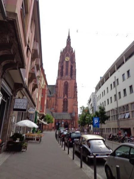 catedral de frankfurt dom frankfurt kaiserdom sankt bartholom us frankfurt am main. Black Bedroom Furniture Sets. Home Design Ideas
