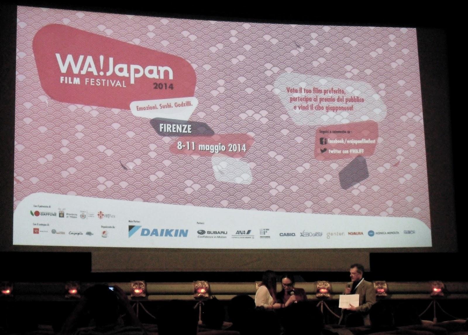 WA! JAPAN FILM FESTIVAL 2014, REPORTAGE DELLA RASSEGNA DEDICATA AL CINEMA GIAPPONESE 1