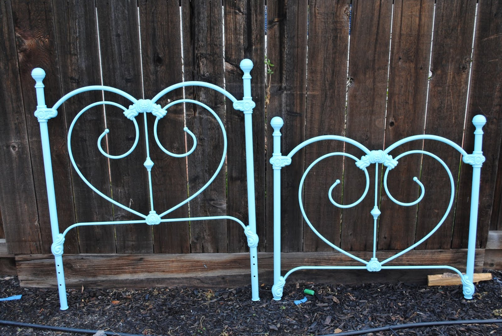 Diddle Dumpling Before And After Wrought Iron Bed And Table Chairs