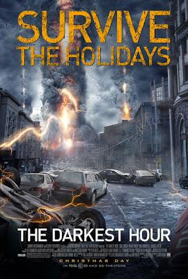 Poster - La hora más oscura, suspenso, ciencia ficción