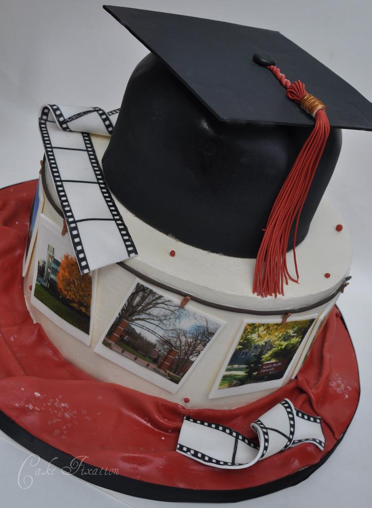 Images Of Graduation Cake : Free Cake Info: Graduation Cakes