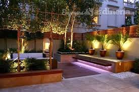 iluminar jardín