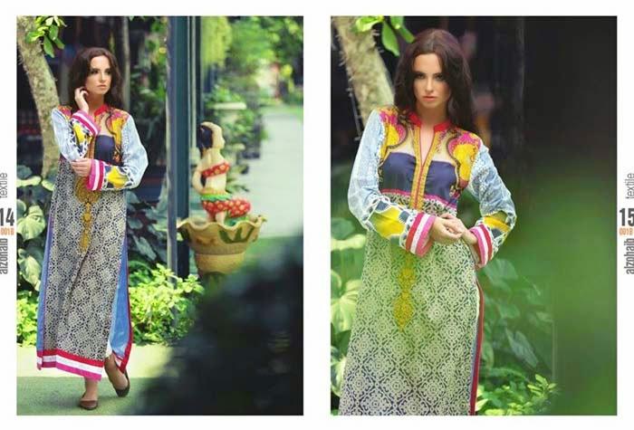 Zanisha-Linen,Graceful,Elegant,Kurtis,Al-Zohaib,Collection,2014-15