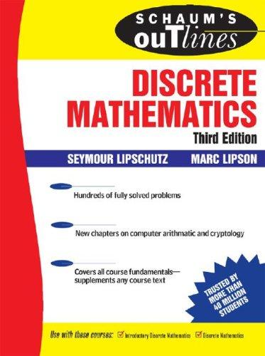 importance of discrete mathematics in computer science As a mathematics and computer science major elements of discrete mathematics i, ii, and iii teach sets, mathematical logic, induction, sequences.