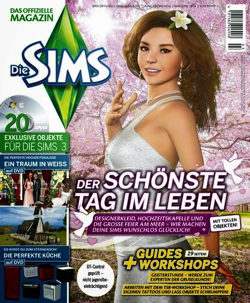 revista sims 4
