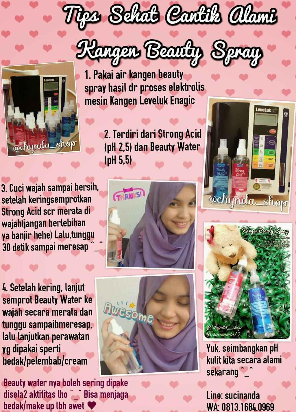 Chynda Shop By Suci Nanda Jual Kangen Water Strong Acid Dan Paket Cantik Sumber Http Kangenwatercoid