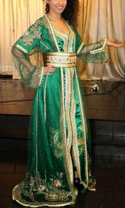 caftan haute couture sari