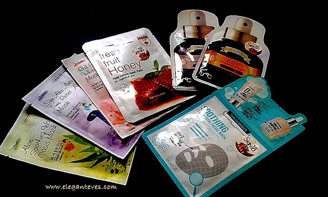 Skin18 sheet masks red ginseng