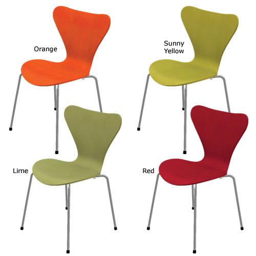 fritz hansen series 7 3107 modern danish design chair by arne