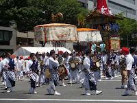 棒振り囃子で有名な綾傘鉾