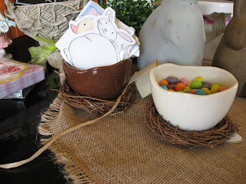 Egg in a Nest candy dishes!