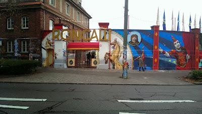 Zirkus, Streetart, Urbanart, Graffiti