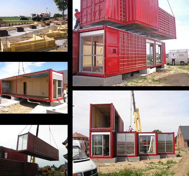 Arquitectura comprometida casas container en lille - Contenedores maritimos para vivienda ...