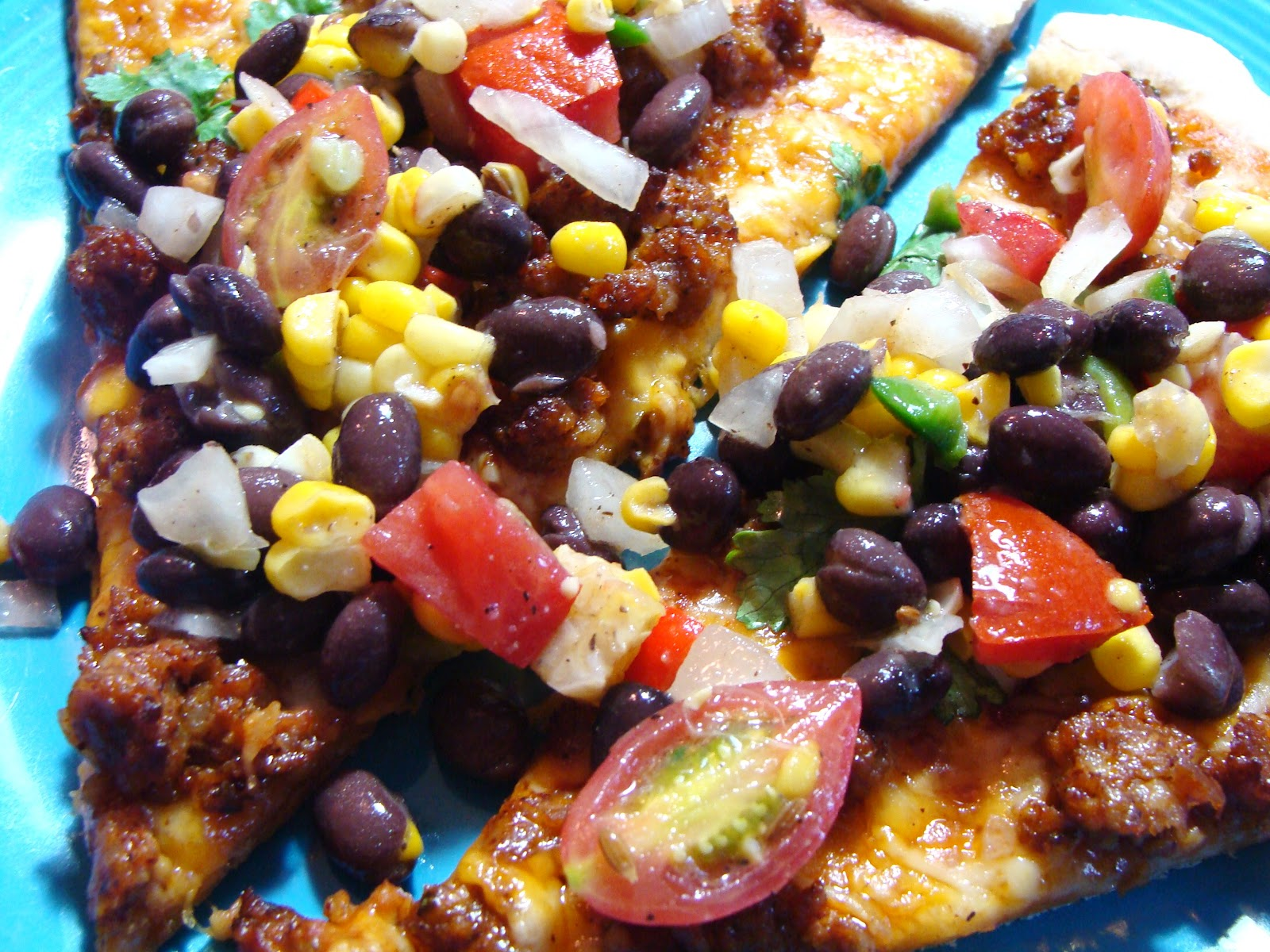 ... Paws Create: Southwestern Pizza with Black Bean and Corn Relish