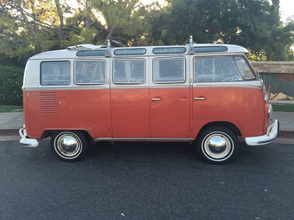 Original 1965 vw 21 window deluxe bus for 1965 21 window vw bus