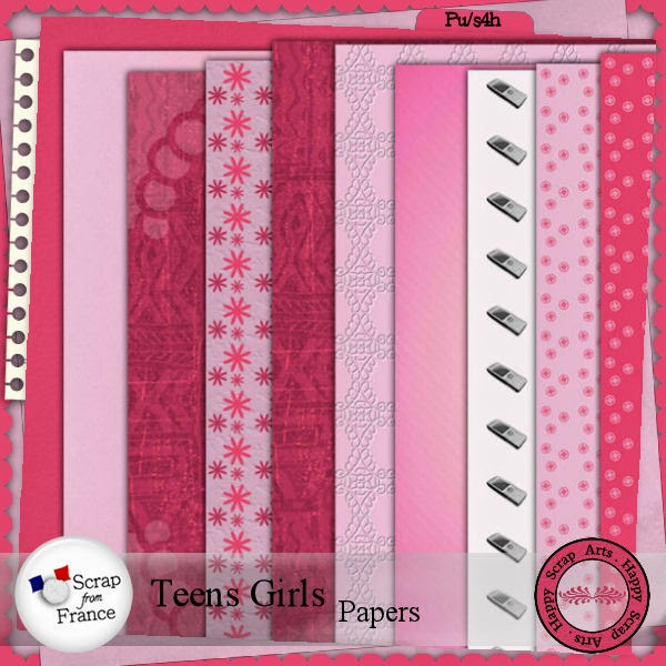 HSA Teens girls papers