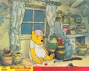 winnie the pooh and the blustery day 1968