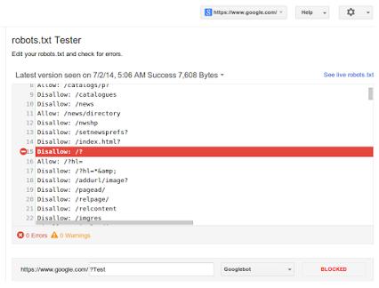 pemberitahuan dari post Google+ Google Wembaster