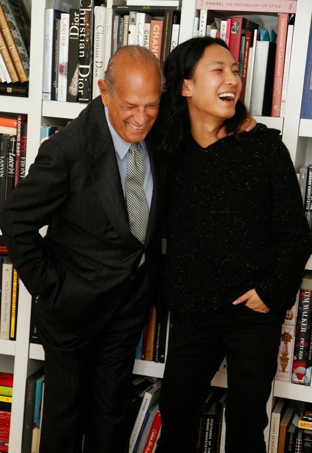 Oscar de la Renta with Alexander Wang for Style.com | Ses Rêveries