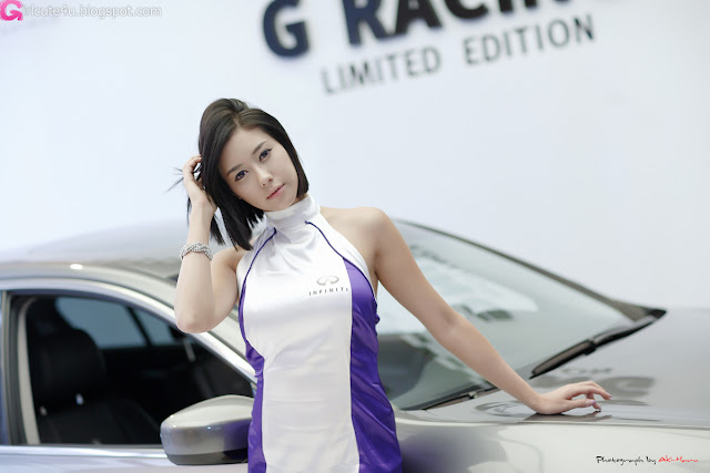 5 Kim Ha Yul - Infiniti G Racing Limited Edition-very cute asian girl-girlcute4u.blogspot.com
