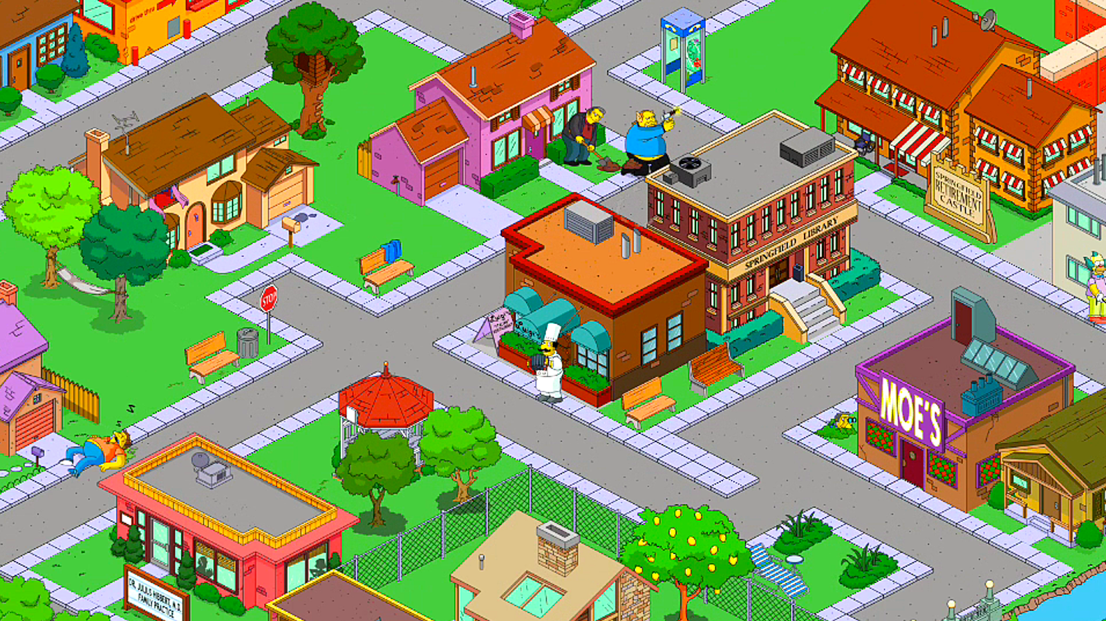 Simpsons Tapped Out The Story Februar 2013