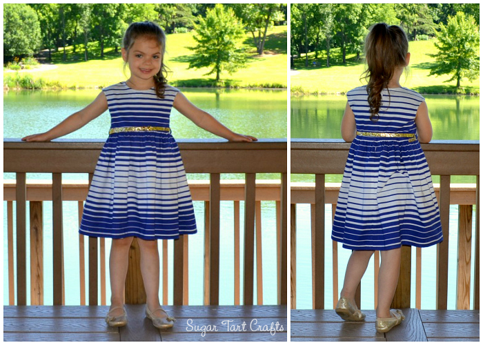 The Caroline Party Dress Pattern by Mouse House Creations