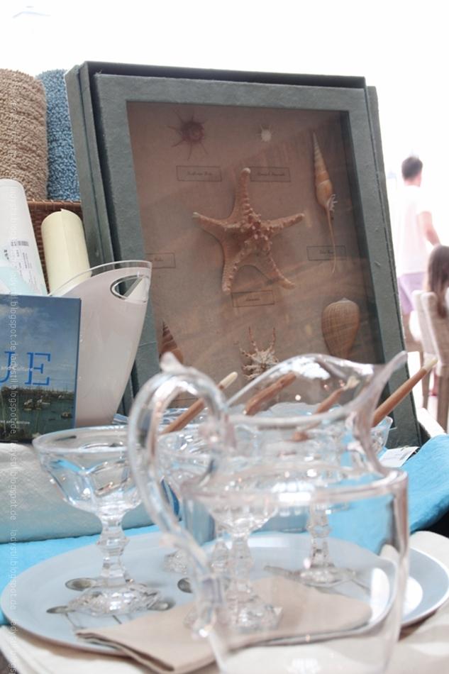 Seestern in Bilderrahmen im Rialto Living Palma Mallorca