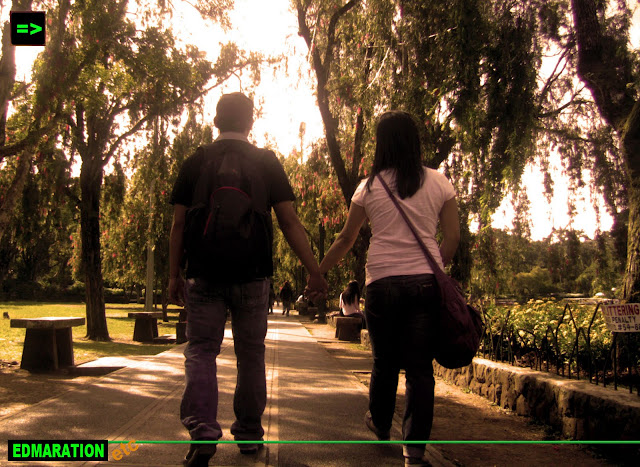 Baguio City | Romance at the Burnham Park