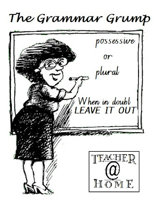 Grammar Grump | Misplaced Apostrophes | Teacher@Home