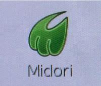 Vous pouvez aller sur internet en cliquant sur cette icône.