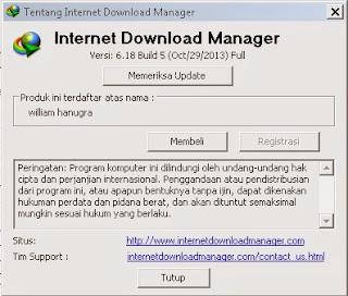 Download IDM terbaru 6.18 build 5 Final Full Crack + Tutorial