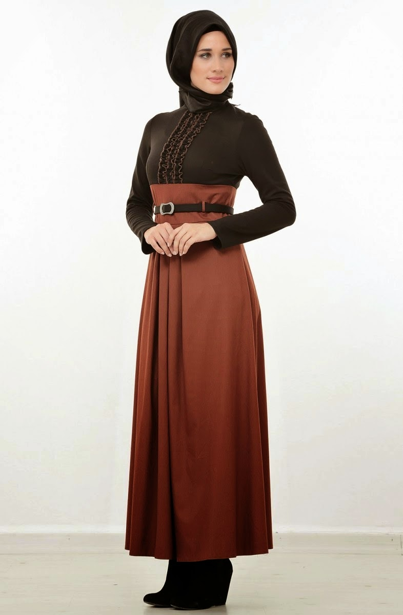 Pin baju gamis muslimah berbagi foto pesta wanita on pinterest Foto model baju gamis pesta