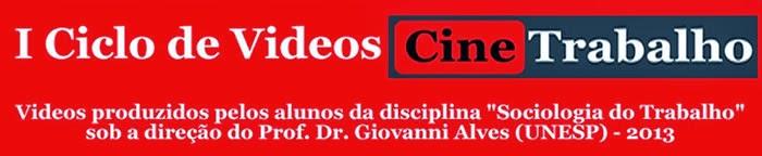 CICLO DE VIDEOS CINETRABALHO