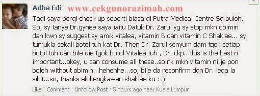 testimoni vitamin c untuk ibu hamil