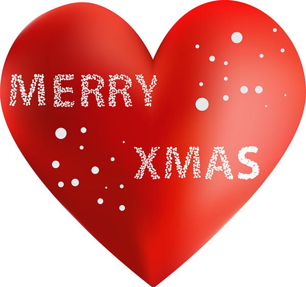 Merry Xmas Heart