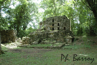 Paysages Mexique chiapas Yaxchilan Pyramide blog photos voyage