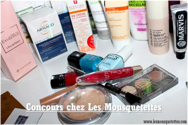 Concours Box Beauté Mousquetettes - Les Mousquetettes©