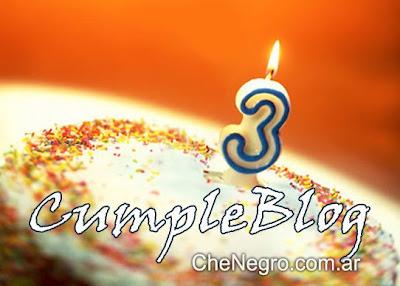 cumpleblog: 3 años de chenegro.com.ar