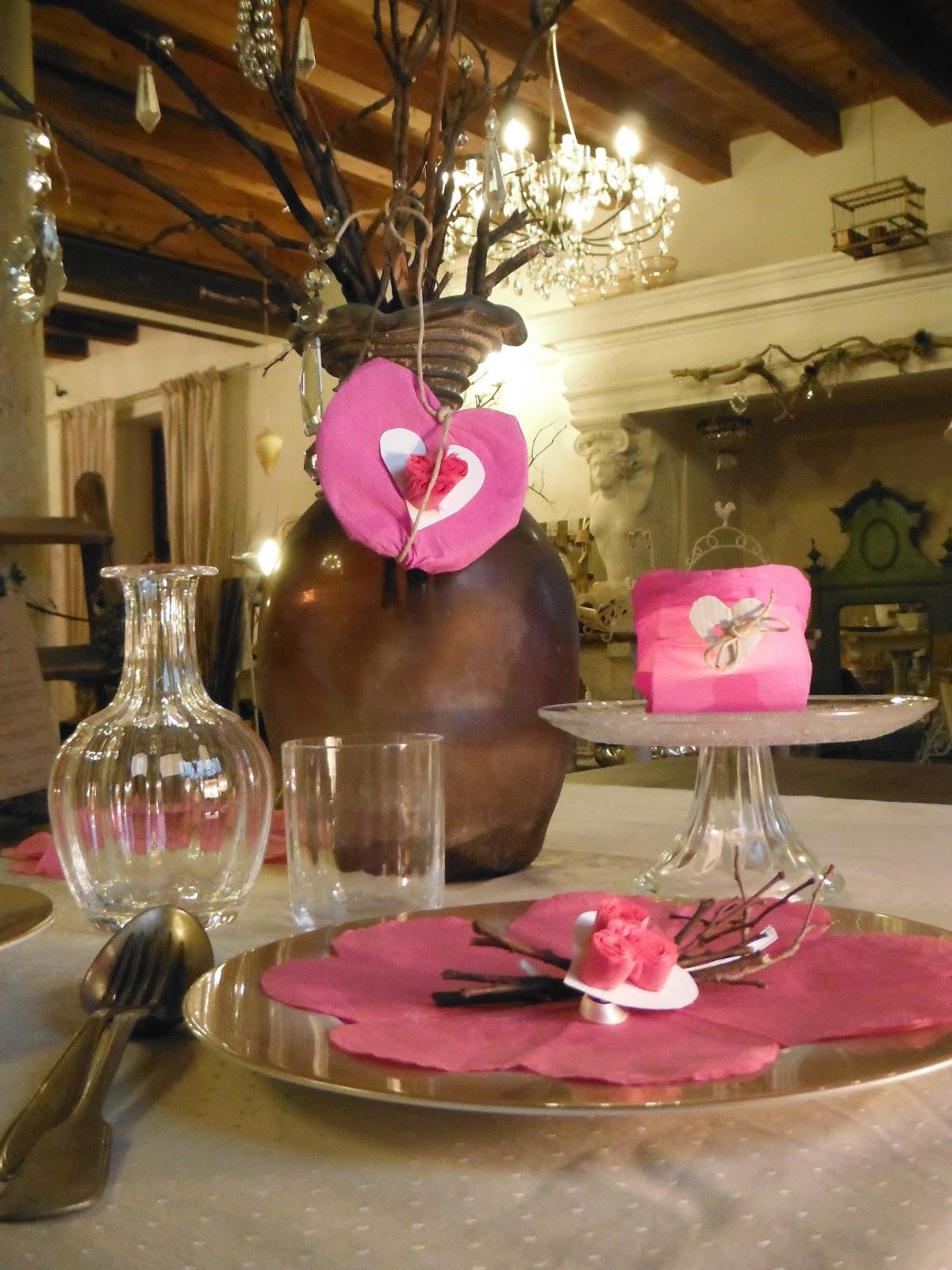La tavola di san valentino prepariamola insieme con - Tavola di san valentino ...