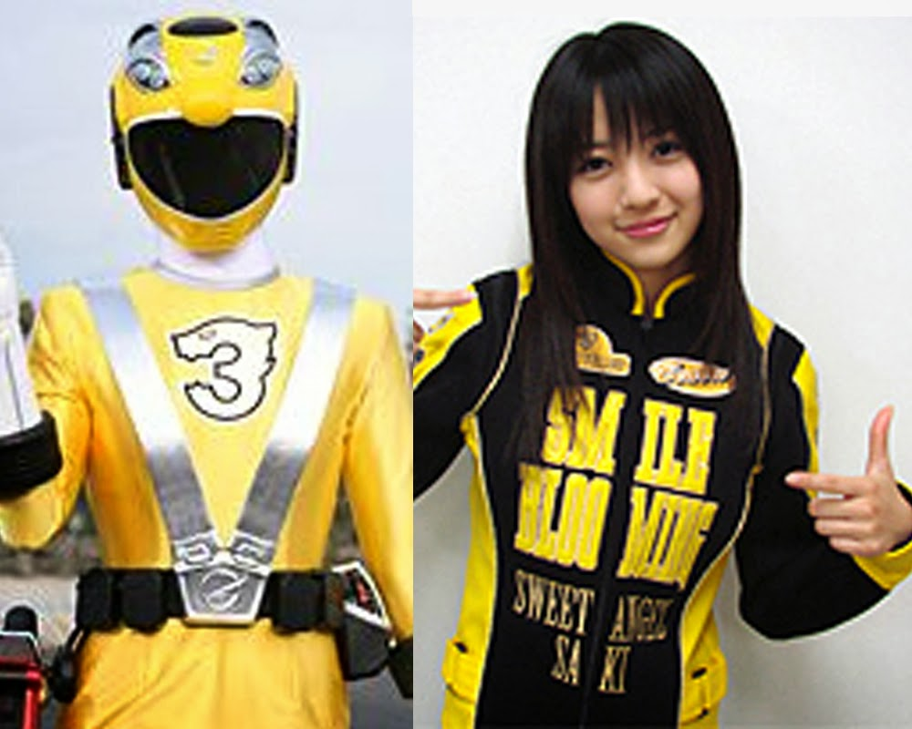 Saki Rouyama (Go-on Yellow)